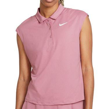 Nike Court Victory Top Womens Elemental Pink/White CV2473 698