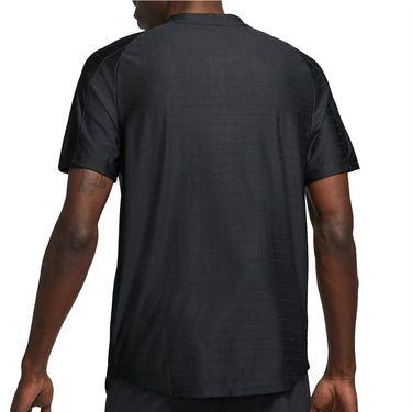 Nike Court Dri FIT Advantage Shirt Mens Black/White CV2499 010
