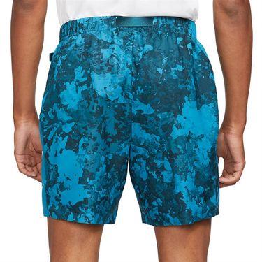 Nike Court Flex Slam Short Mens Green Abyss/Black/White CV2519 301