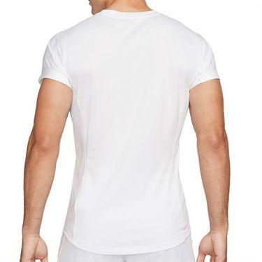Nike Rafa Challenger Shirt Mens White/Chile Red CV2572 101