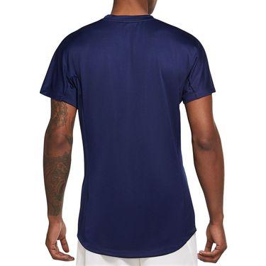 Nike Rafa Challenger Shirt Mens Binary Blue/Chile Red CV2572 429