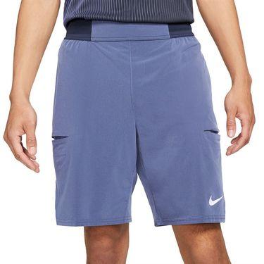 Nike Court Dri FIT Slam Short Mens Obsidian/Dark Purple Dust/White CV2709 451
