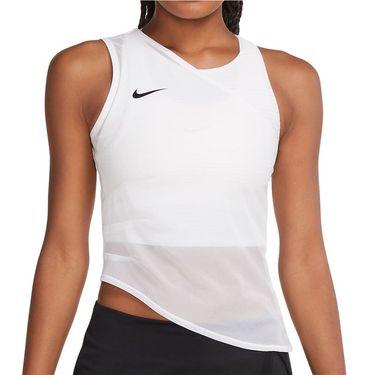Nike Court Dri Fit Advantage Slam Tank Womens White/Black CV2796 100