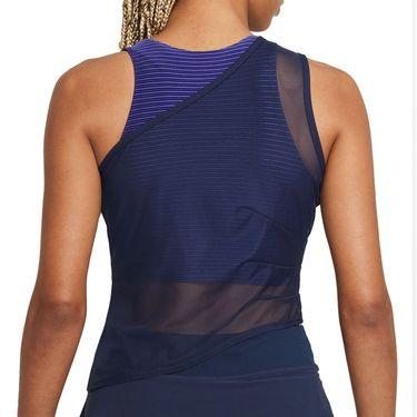 Nike Court Dri FIT ADV Slam Tank Womens Obsidian/White CV2796 451