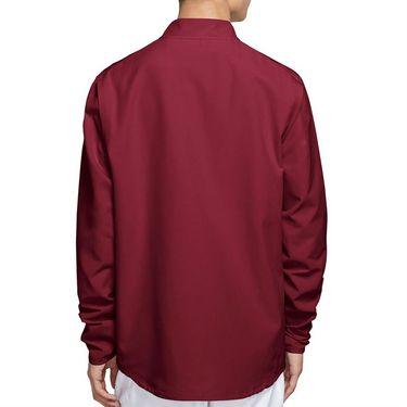 Nike Court Hyper Adapt Advantage Full Zip Jacket Mens Dark Beetroot/White CV2798 638
