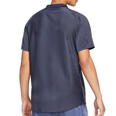 Nike Court Dri FIT ADV Slam Shirt Mens Obsidian/White CV2863 451