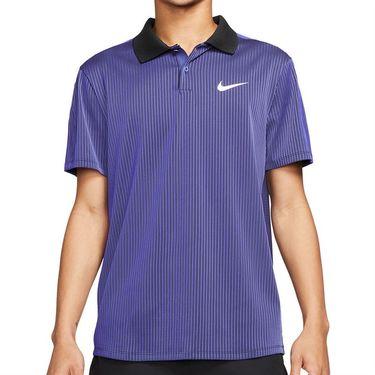 Nike Court Dri FIT ADV Slam Shirt Mens Dark Purple Dust/White CV2863 510