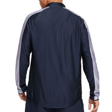 Nike Court Breathe Advantage 1/2 Zip Jacket Mens Obsidian/Indigo Haze/White CV2866 451