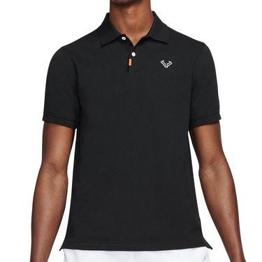 Nike Rafa The Nike Polo Shirt Mens Black/White CV2969 010