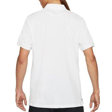 Nike The Nike Rafa Polo Shirt Mens White/Black CV2969 100