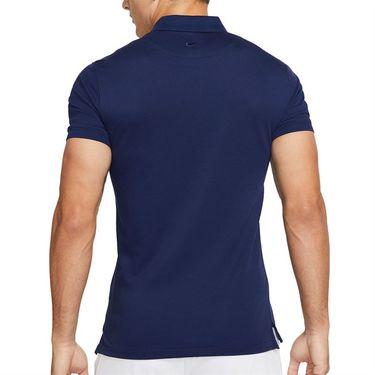 Nike The Nike Polo Rafa Mens Binary Blue/Chile Red CV2969 429