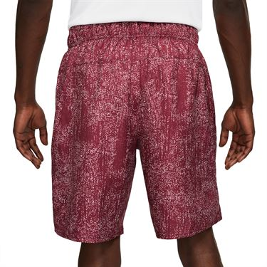 Nike Court Flex Victory Short Mens Dark Beetroot/White CV2974 638