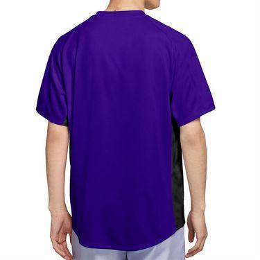 Nike Court Dri FIT Victory Shirt Mens Concord/Black/White CV2982 471