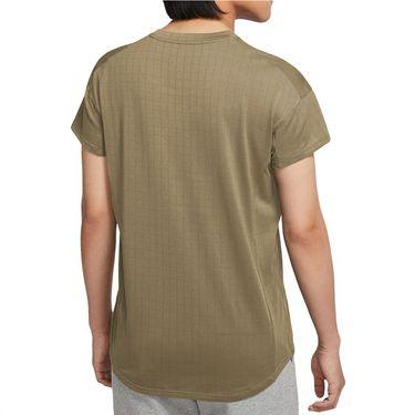 Nike Court Breathe Slam Shirt Mens Parachute Beige/Black CV3840 297