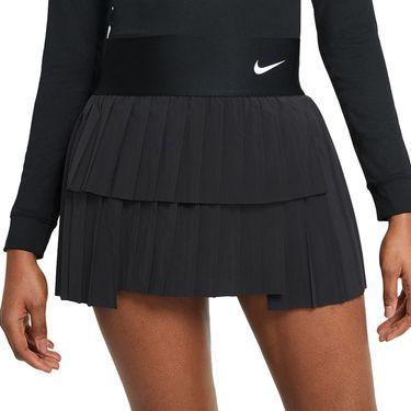 Nike Court Advantage Skirt Womens Black/White CV4678 010