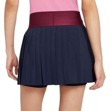Nike Court Advantage Skirt Womens Obsidian/Dark Beetroot/White CV4678 451