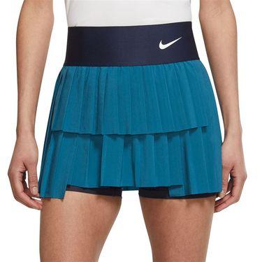Nike Court Advantage Tall Skirt Womens Brigade Blue/Obsidian/White CV4678 453T