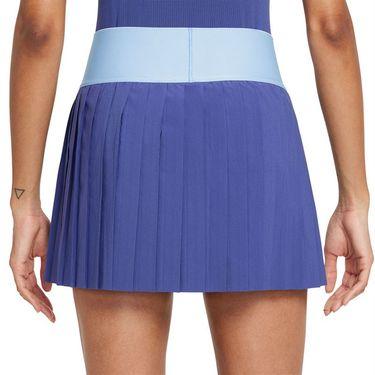 Nike Court Advantage Skirt Womens Dark Purple Dust/Aluminum/Black CV4678 510