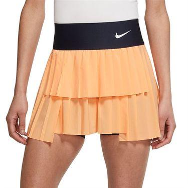 Nike Court Advantage Skirt Womens Peach Cream/Obsidian/White CV4678 811