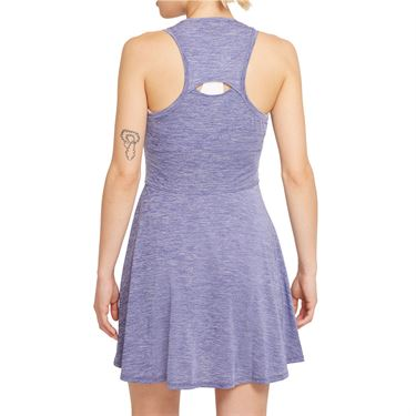 Nike Court Dri Fit Advantage Dress Womens Dark Purple Dust/White CV4692 510