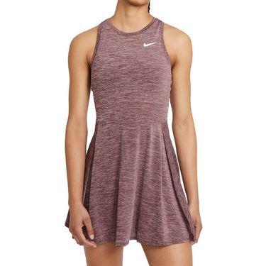Nike Court Dri Fit Advantage Dress Womens Dark Beetroot/White CV4692 638