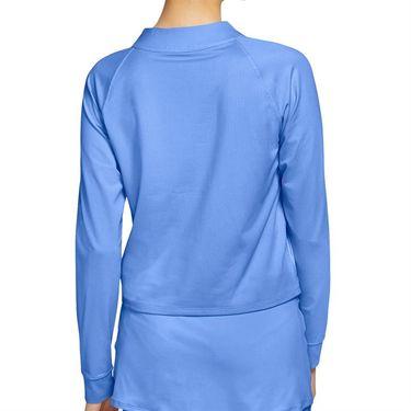 Nike Court Dri FIT Victory Long Sleeve Top Womens Aluminum/Black CV4697 468