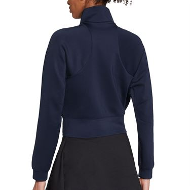 Nike Court Full Zip Jacket Womens Obsidian/White CV4701 451