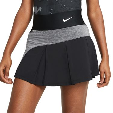 Nike Court Advantage Skirt Womens Black/White CV4707 010