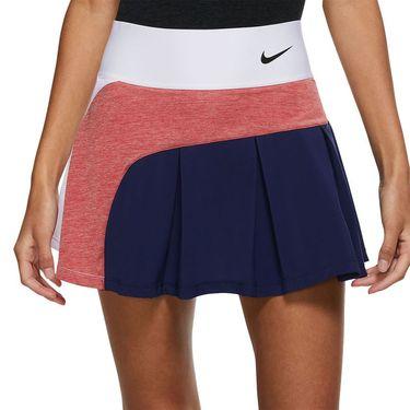 Nike Court Advantage Skirt Womens White/Binary Blue/University Red/Black CV4707 102