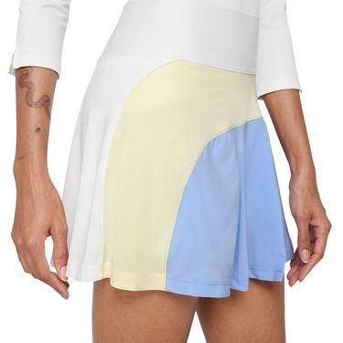 Nike Court Advantage Skirt Womens White/Aluminum/Coconut Milk/Black CV4707 103