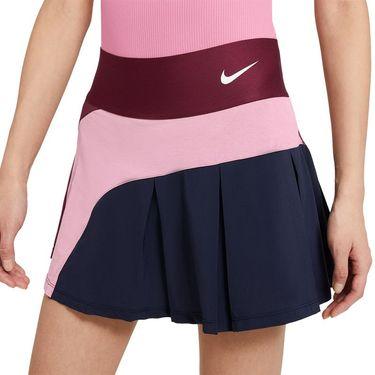 Nike Court Advantage Skirt Womens Dark Beetroot/Elemental Pink/White CV4707 638