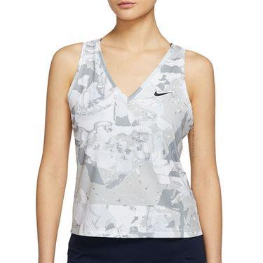 Nike Court Victory Tank Womens White/Black CV4742 100