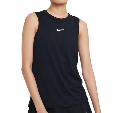 Nike Court Advantage Tank Womens Black/White CV4761 010