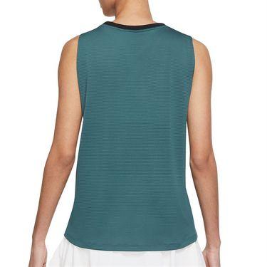 Nike Court Advantage Tank Womens Dark Teal Green/Black/White CV4761 393