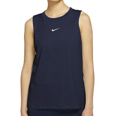 Nike Court Advantage Tank Womens Obsidian/White CV4761 451