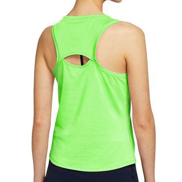 Nike Court Victory Tank Womens Lime Glow/Black CV4784 345
