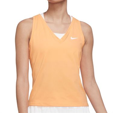 Nike Court Victory Tank Womens Peach Cream/White CV4784 811