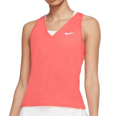 Nike Court Victory Tank Womens Magic Ember/White CV4784 814