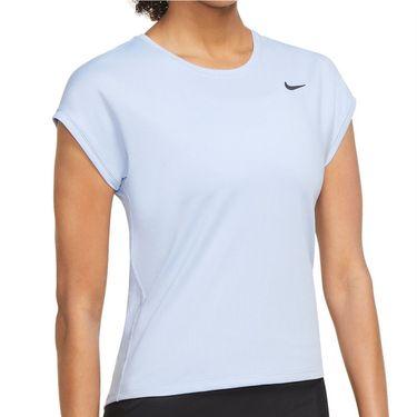 Nike Court Victory Top Womens Aluminum/Black CV4790 468