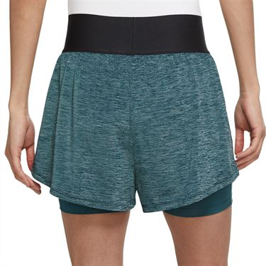 Nike Court Advantage Short Womens Dark Teal Green/White CV4792 393