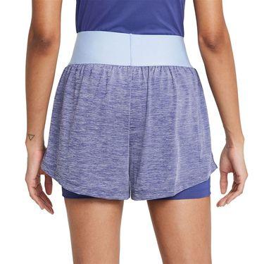 Nike Court Advantage Short Womens Dark Purple Dust/Black CV4792 510