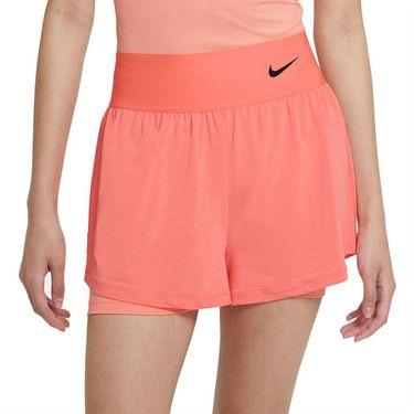 Nike Court Advantage Short Womens Crimson Bliss/Black CV4792 694