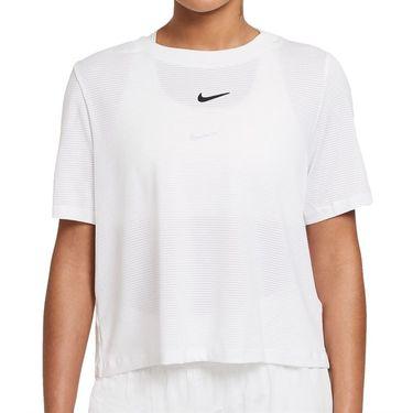 Nike Court Advantage Top Womens White/Black CV4811 100