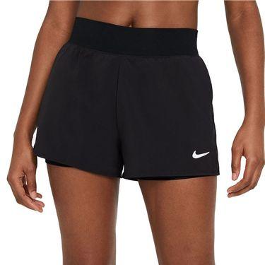 Nike Court Dri FIT Victory Short Womens Black/White CV4817 010