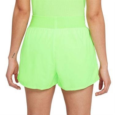 Nike Court Dri FIT Victory Short Womens Lime Glow/Black CV4817 345