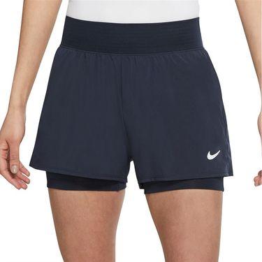 Nike Court Dri FIT Victory Short Womens Obsidian/Obsidian/White CV4817 452