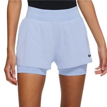 Nike Court Dri Fit Victory Short Womens Aluminum/Black CV4817 468