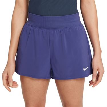 Nike Court Dri FIT Victory Short Womens Dark Purple Dust/White CV4817 510