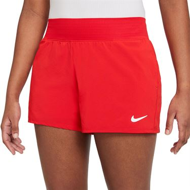 Nike Court Dri Fit Victory Short Womens University Red/White CV4817 657