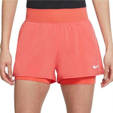 Nike Court Dri FIT Victory Short Womens Magic Ember/White CV4817 814